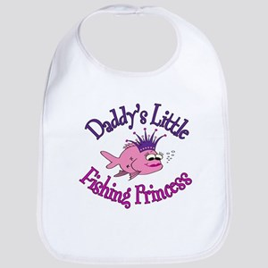 Daddy's Fishing Princess Bib