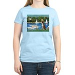 Sailboats & Boxer Women's Light T-Shirt