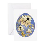 Ukrainian Egg - 14 - Greeting Cards (Pk of 10)
