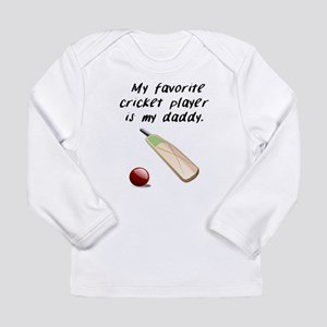My Favorite Cricket Player Is My Daddy Long Sleeve