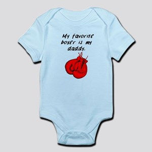My Favorite Boxer Is My Daddy Body Suit
