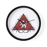Aztec Highland Celtic Festival Logo Wall Clock