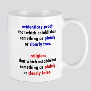 Evidentiary Proof Mugs