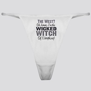 Wicked Witch of Everything G Classic Thong