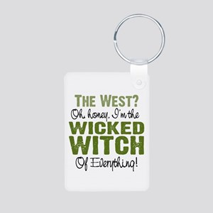 Wicked Witch Of Everything Aluminum Photo Keychain