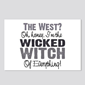 Wicked Witch Of Postcards (Package Of 8)