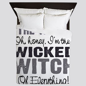 Wicked Witch of Everything G Queen Duvet