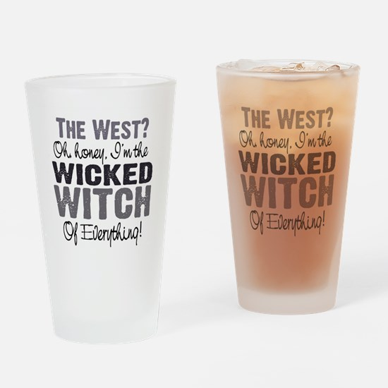 Wicked Witch of Everything G Drinking Glass