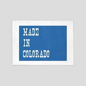 Made in Colorado 5'x7'Area Rug