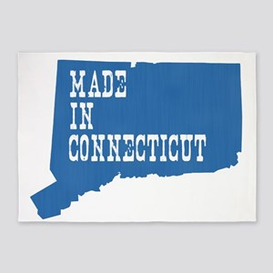 Made In Connecticut 5'x7'Area Rug