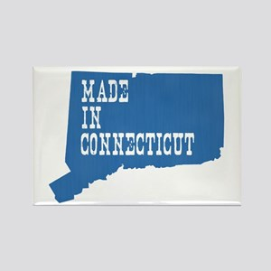 Made In Connecticut Rectangle Magnet