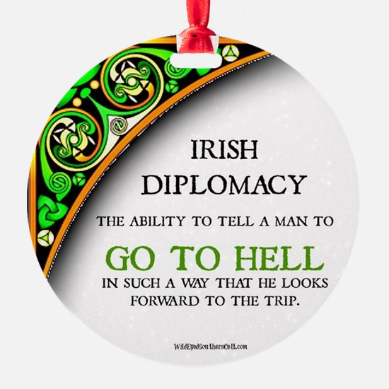Irish diplomacy Ornament