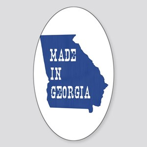 Georgia Sticker (Oval)