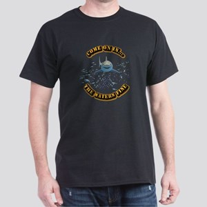 Great White says..Come On In Dark T-Shirt
