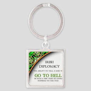 Irish diplomacy Keychains