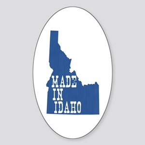 Idaho Sticker (Oval)