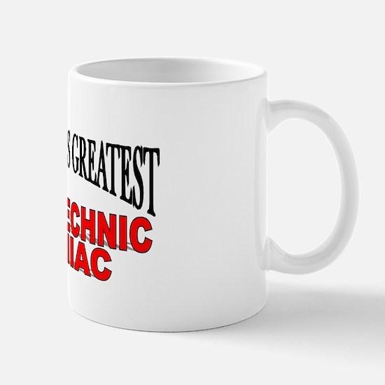 """The World's Greatest Pyrotechnic Maniac"" Mug"