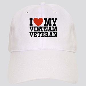 I Love My Vietnam Veteran Cap