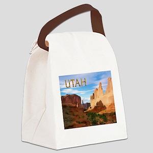 Utah smaller Canvas Lunch Bag