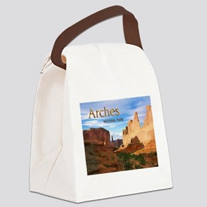 Arches Smaller Canvas Lunch Bag