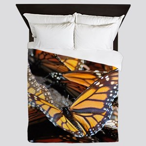 Butterfly 1 Square Queen Duvet