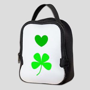 Hearts For Clovers Lover 312 Neoprene Lunch Bag