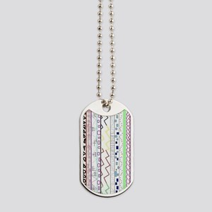 Tribal Design  Dog Tags