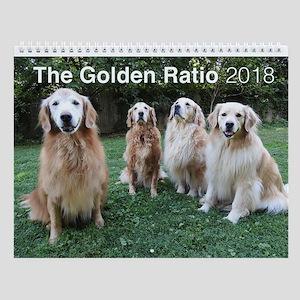The Golden Ratio Wall Calendar