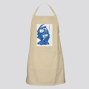 Blue Koi Fish Apron