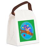 Golden Angwantibo Canvas Lunch Bag