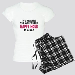 Happy Hour Is A Nap Women's Light Pajamas