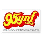 95ynf Transparent Bumper Sticker (Rectangle)