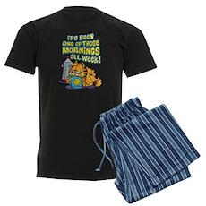 One of Those Mornings Men's Dark Pajamas