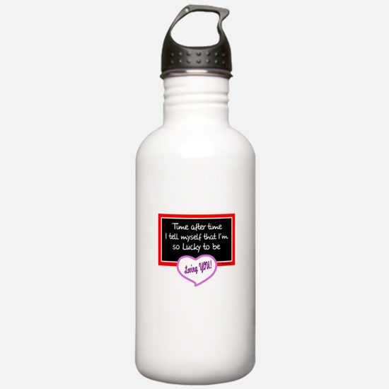 Time After Time-Sammy Cahn/t-shirt Water Bottle