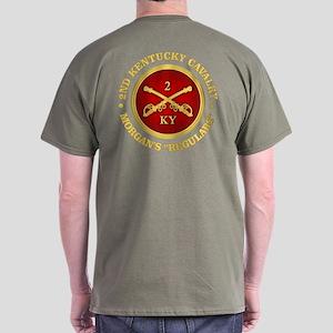 2nd Kentucky Cavalry, Csa Dark T-Shirt