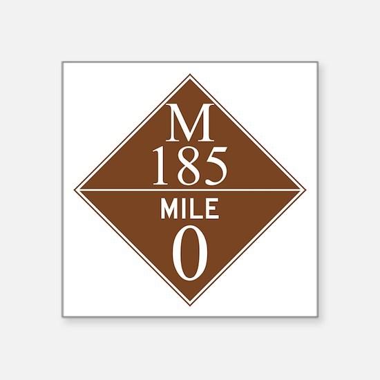 "M 185 / Mackinac Island Square Sticker 3"" x 3"""