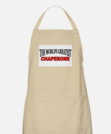 """""""The World's Greatest Chaperone"""" BBQ Apron"""