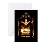 Night Light Photography Greeting Cards