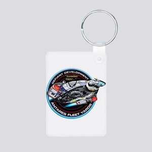 STAR TREK DS9 Logo Aluminum Photo Keychain