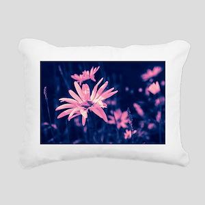 Dreamy pink daisies  Rectangular Canvas Pillow
