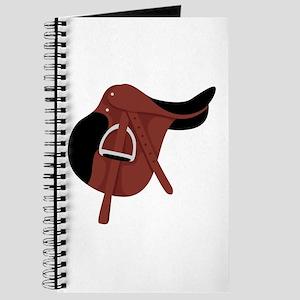 English Hunter Horseback Riding Saddle Journal