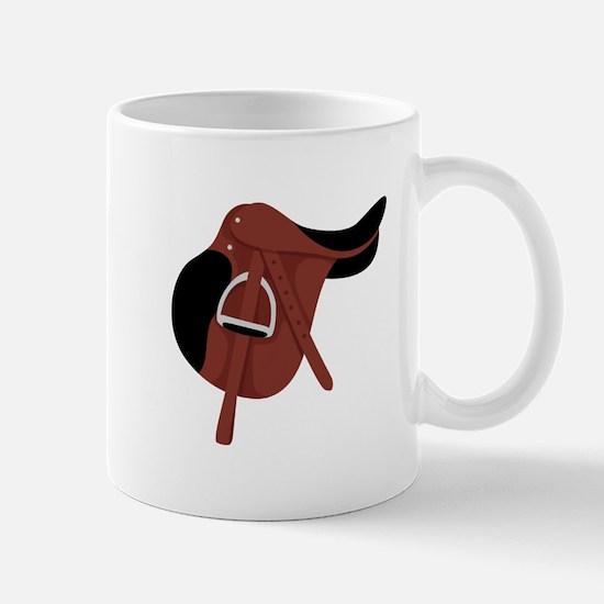 English Hunter Horseback Riding Saddle Mugs