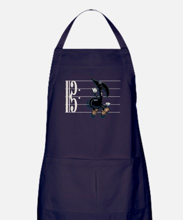 Scaling Note Apron (dark)