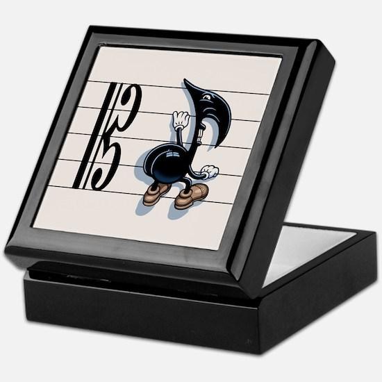 Scaling Note Keepsake Box