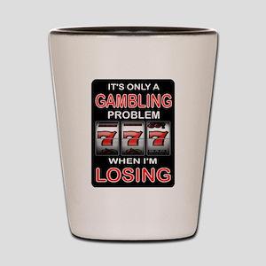 GAMBLING Shot Glass