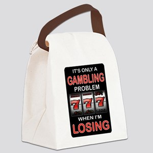 GAMBLING Canvas Lunch Bag