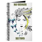 Be Unique clear Journal