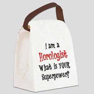 horologist Canvas Lunch Bag