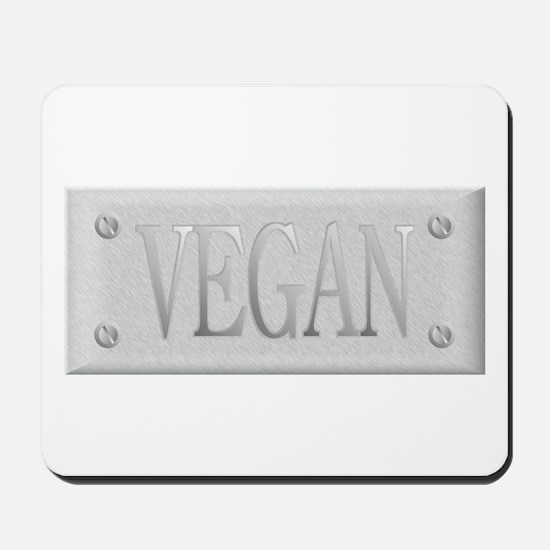 Vegan Steel Plate Mousepad