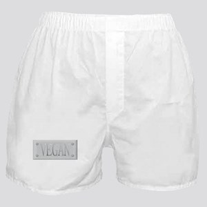Vegan Steel Plate Boxer Shorts